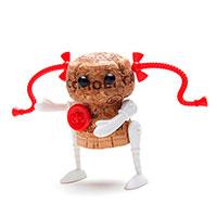 Набор украшений для пробки Monkey Business Rag Doll Ann Corkers Classics, фото