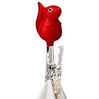 Прищепки-белки красного цвета Qualy Peg Squirrel , фото