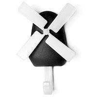 Настенный крючок Qualy Windmill, фото
