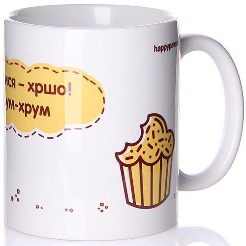 Чашка Happy Paw Хрум-хрум, фото