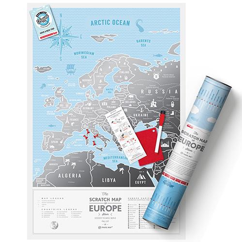 Скретч карта Travelmap Европа, фото