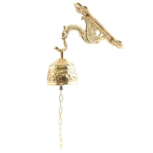 Настенный колокольчик Livio настенный золотистого цвета, фото
