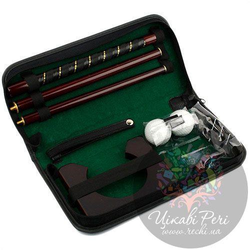 Офис-гольф Z.F.Golf в кожаной сумке, фото