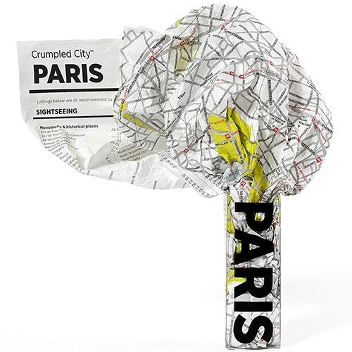 Мятая карта Palomar Paris, фото