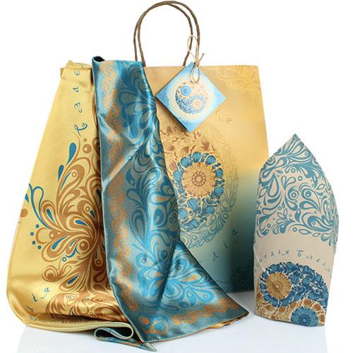 Подарочный набор OpenMind желто-голубой, фото