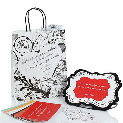Набор мотивирующих открыток OpenMind в подарочной упаковке, фото