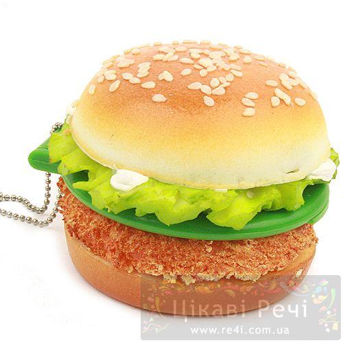 Подвеска - гамбургер с зеркалом, фото