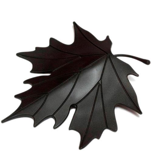 Фиксатор для двери Qualy Autumn черного цвета, фото