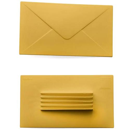 Дверной стоппер Qualy You've Got Mail с функцией органайзера, фото