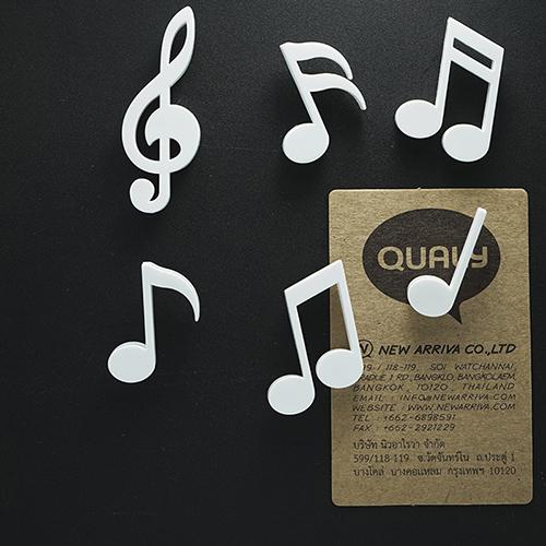 Набор магнитов Qualy Memody в виде нот, фото