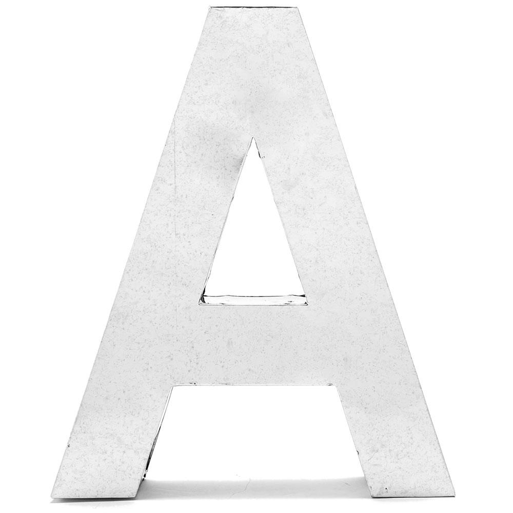 Металлическая буква А Seletti