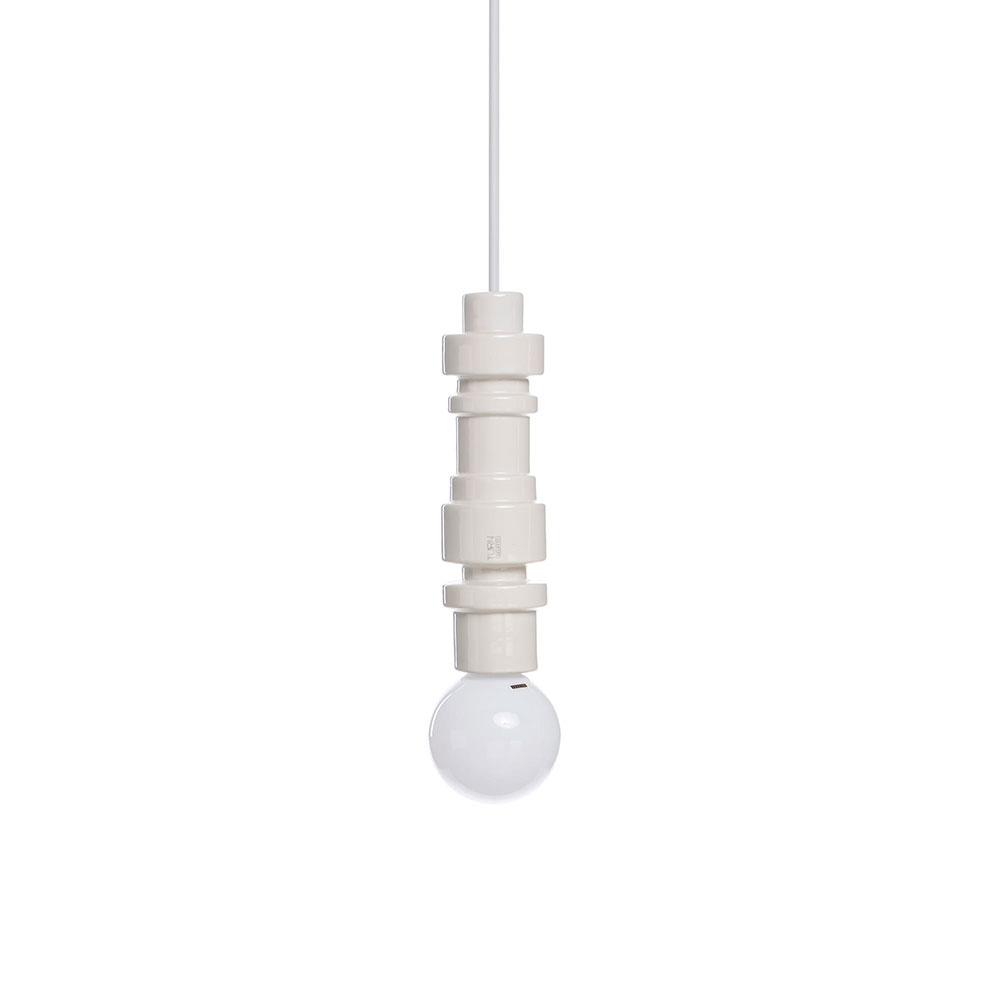 Светильник Seletti Turn белого цвета
