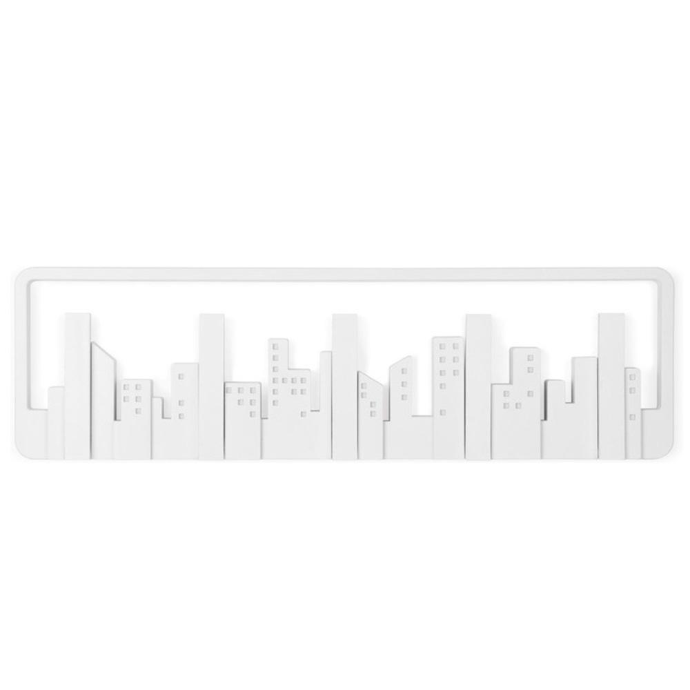 Настенная вешалка Umbra Skyline белая