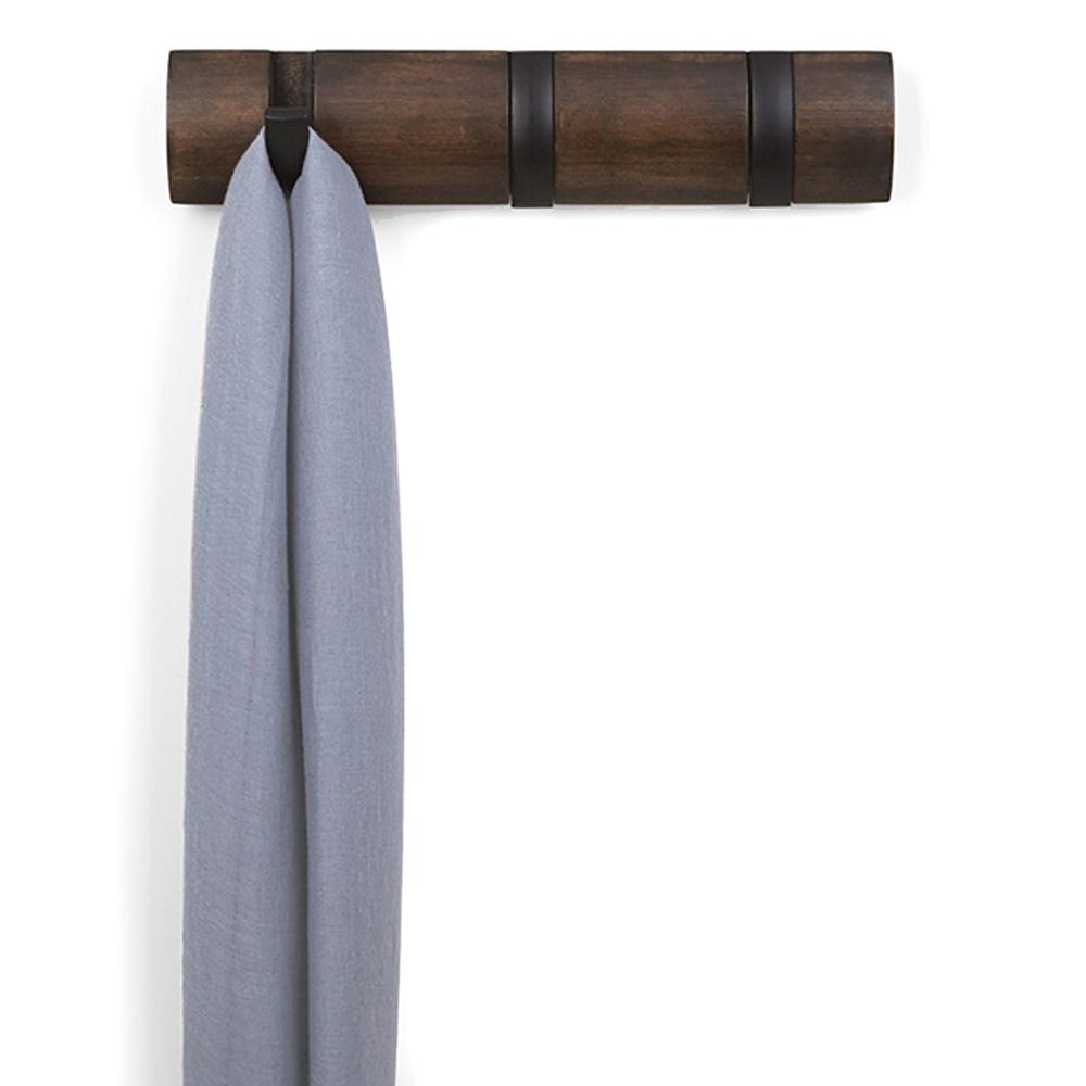 Настенная вешалка Umbra Flip с тремя крючками