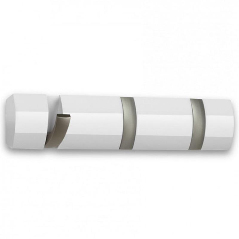 Деревянная вешалка Umbra Flip белого цвета