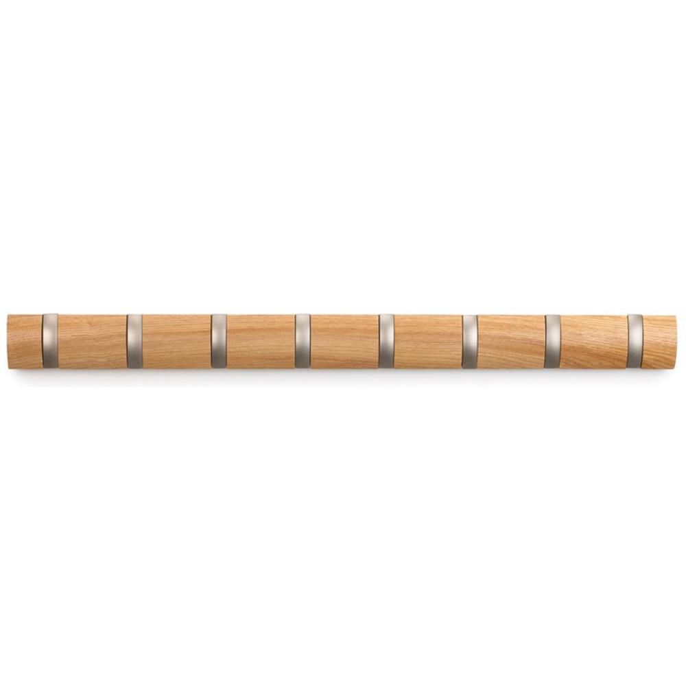 Деревянная настенная вешалка Umbra Flip Natural
