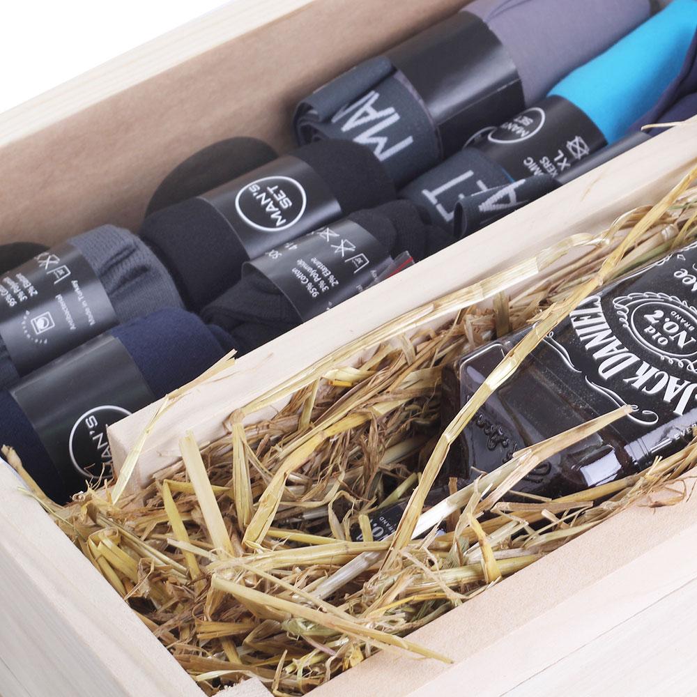 Мужской подарочный набор боксеров и носков Mans Set Jack Daniels