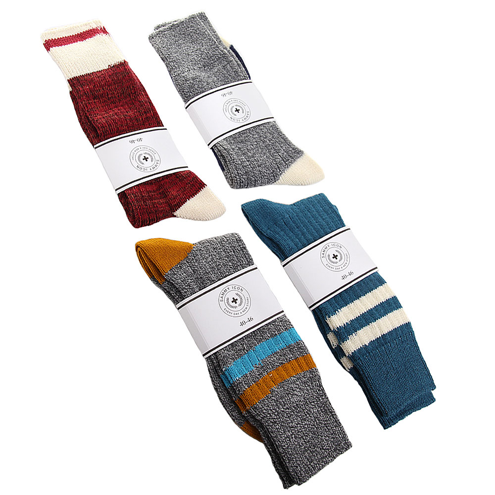 Набор из 4 пар шерстяных носков Sammy Icon