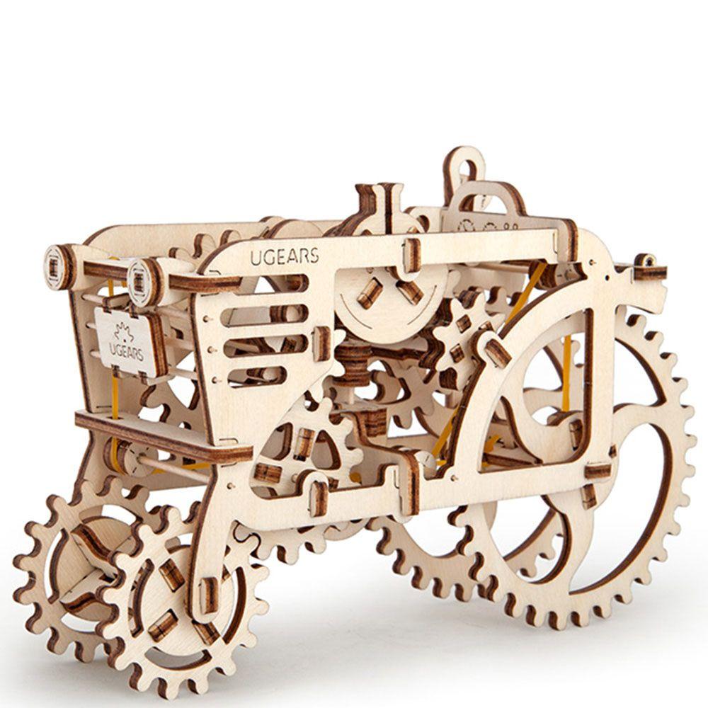Механический 3D пазл Ukrainian Gears Трактор