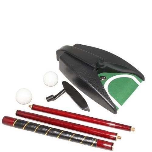 Офис-гольф Z.F.Golf в металлическом кейсе с механизмом возврата мяча
