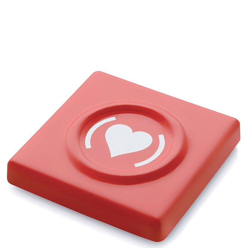 Футляр для презерватива Alessi красного цвета