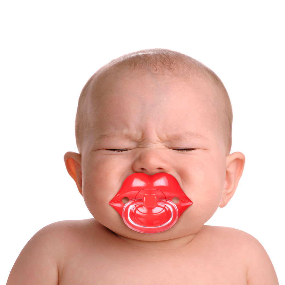 Детская пустышка Fred and Friends в виде губ