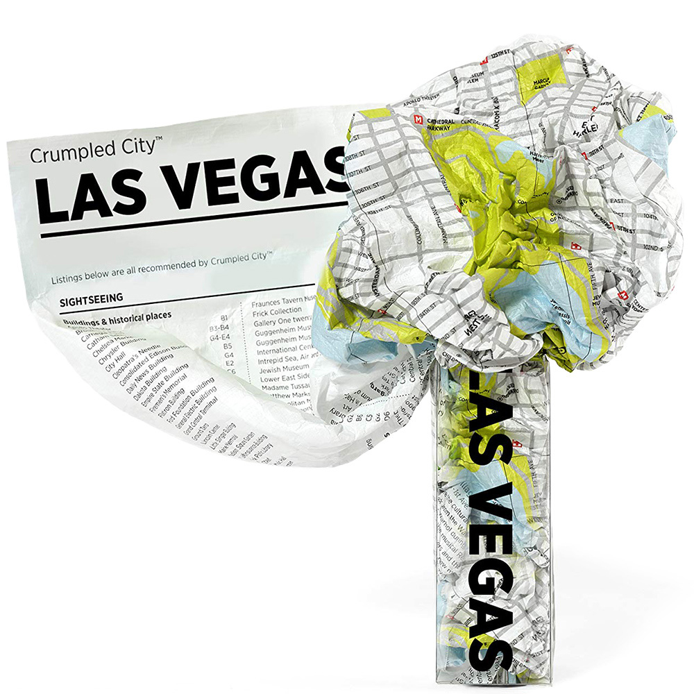 Мятая карта Palomar Las Vegas