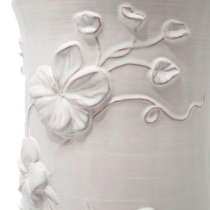 Подставка для зонтов Mastercraft белого цвета с цветами