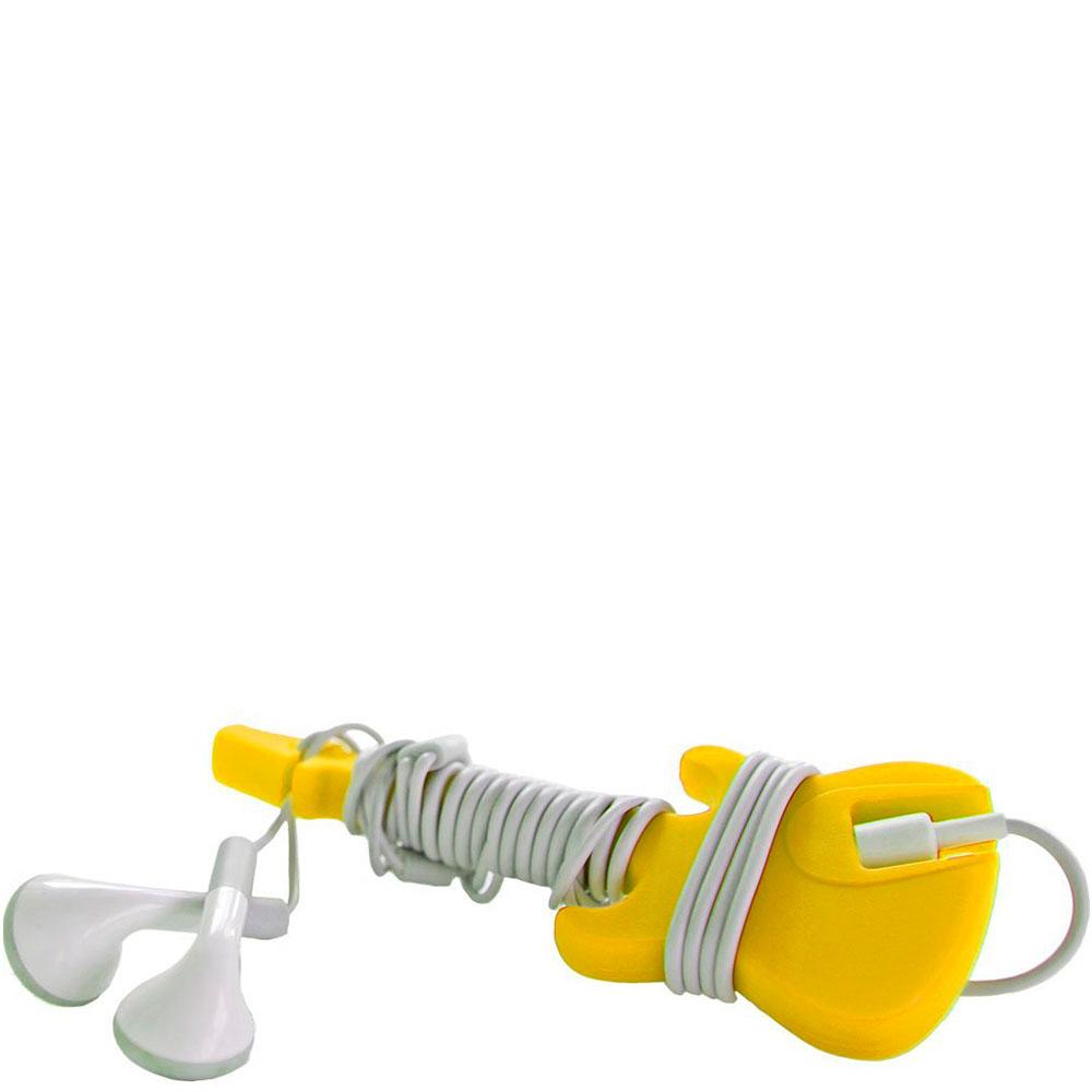 Крепление для наушников Rocket желтого цвета