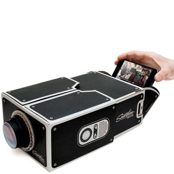 Проектор для смартфона Luckies черного цвета