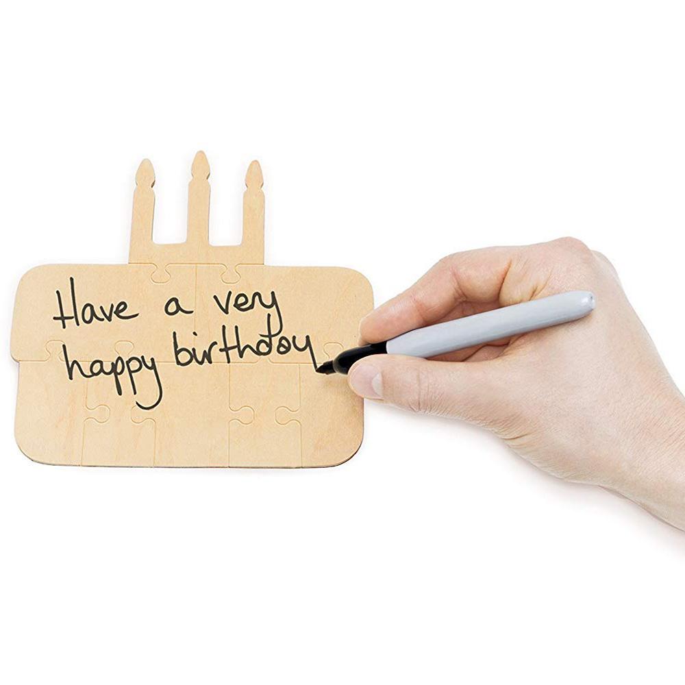 Деревянный пазл Luckies You Complete Me Happy Birthday