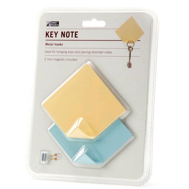 Держатель для ключей и записок Monkey Business Key Note