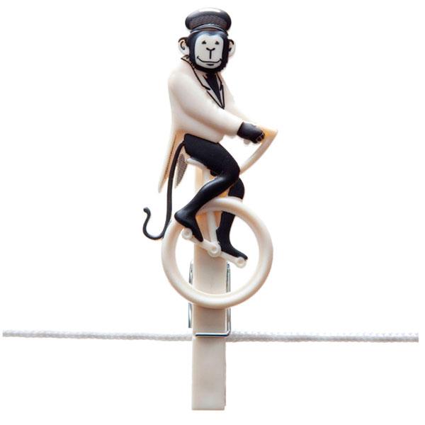 Набор прищепок Monkey Business Pegzini Family