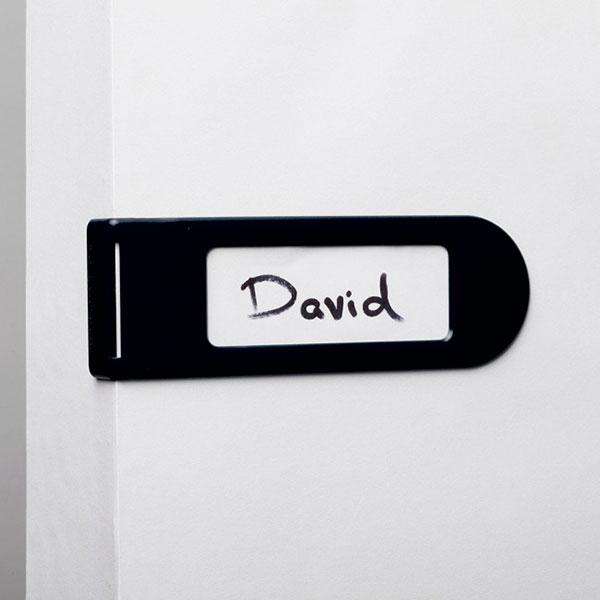 Дверная бирка Monkey Business Doortag черная
