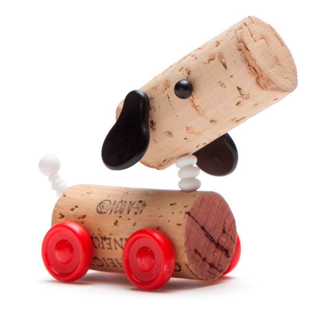 Набор украшений для пробки Monkey Business Dog Ralf Corkers Classics