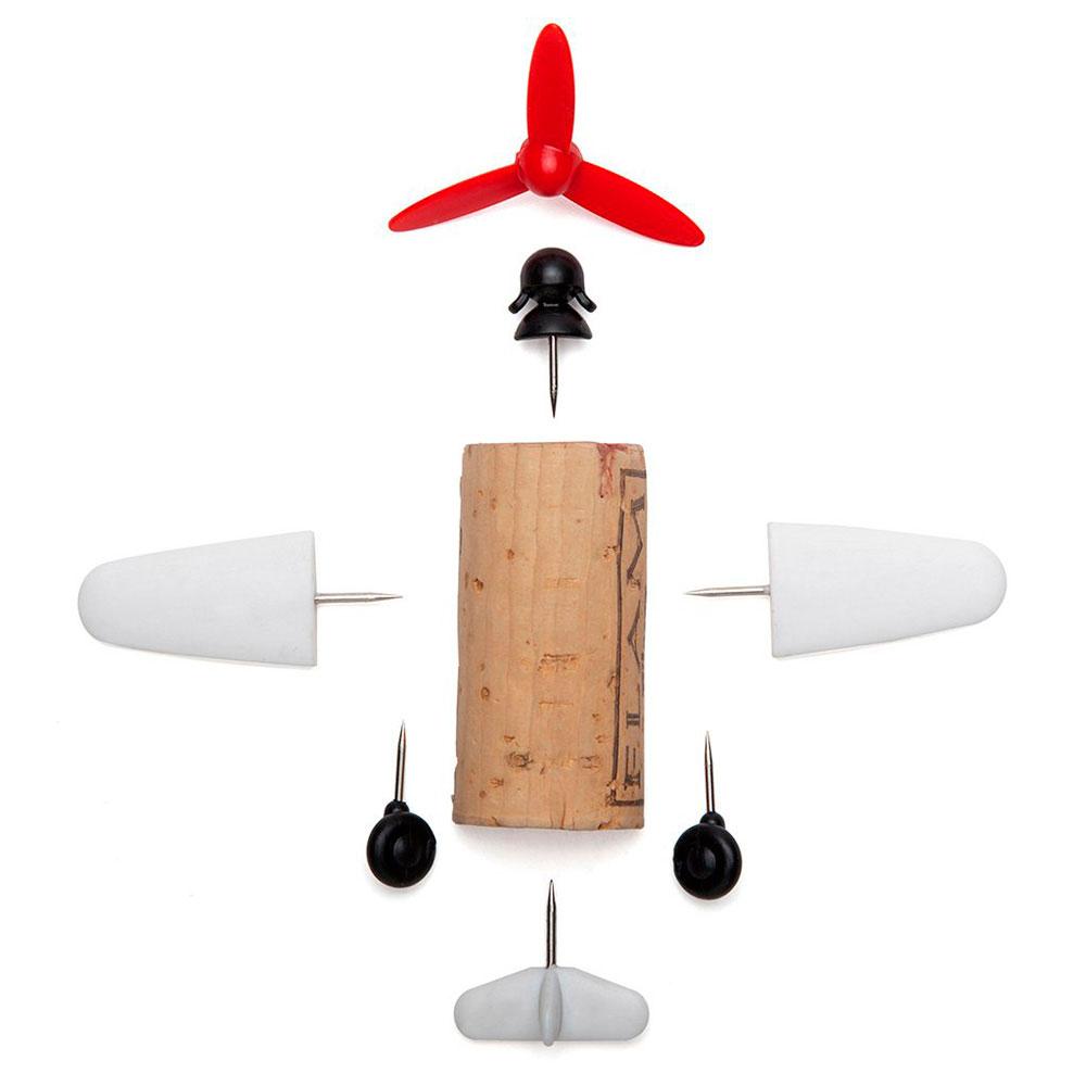 Набор украшений для пробки Monkey Business Plane Captain Curtis Corkers Classics