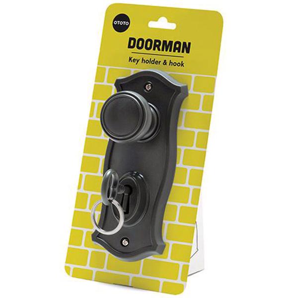 Настенный крючок и держатель для ключей OTOTO Doorman