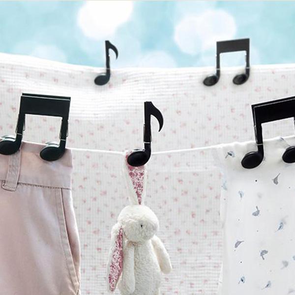 Набор прищепок OTOTO Musiclips музыкальные ноты