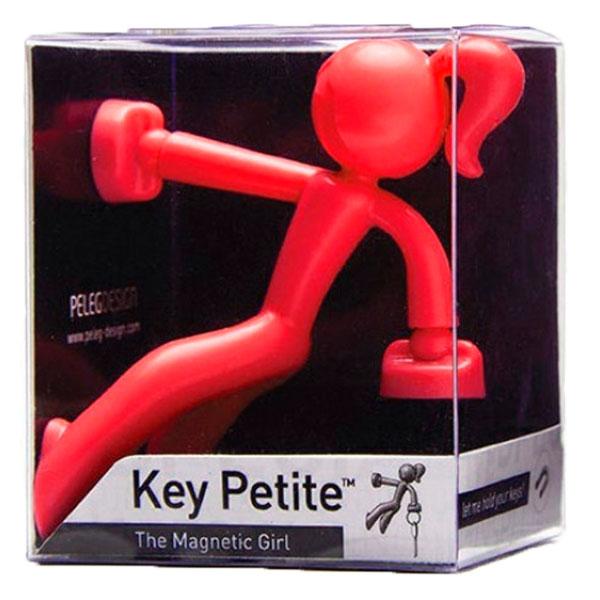 Держатель для ключей Peleg Design Key Petite красный