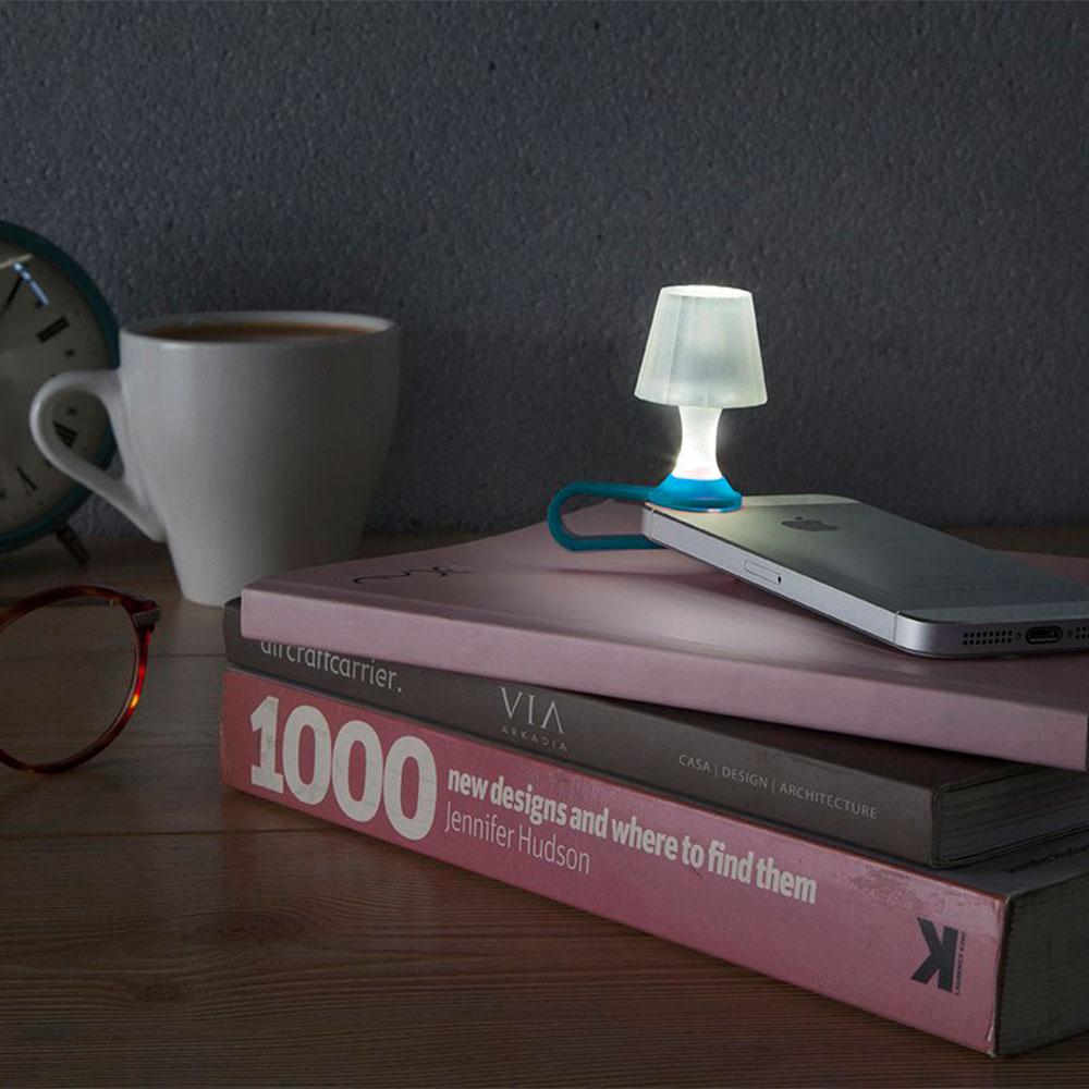 Мини-ночник для смартфона Peleg Design Luma синий