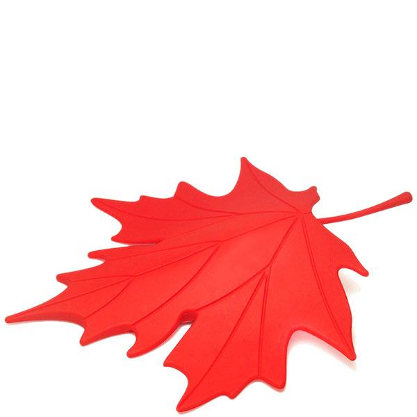 Фиксатор для двери Qualy Autumn красного цвета