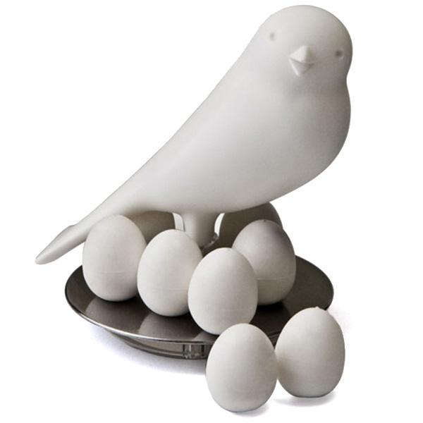 Набор магнитов Qualy Magnetic Egg Sparrow для магнитной доски