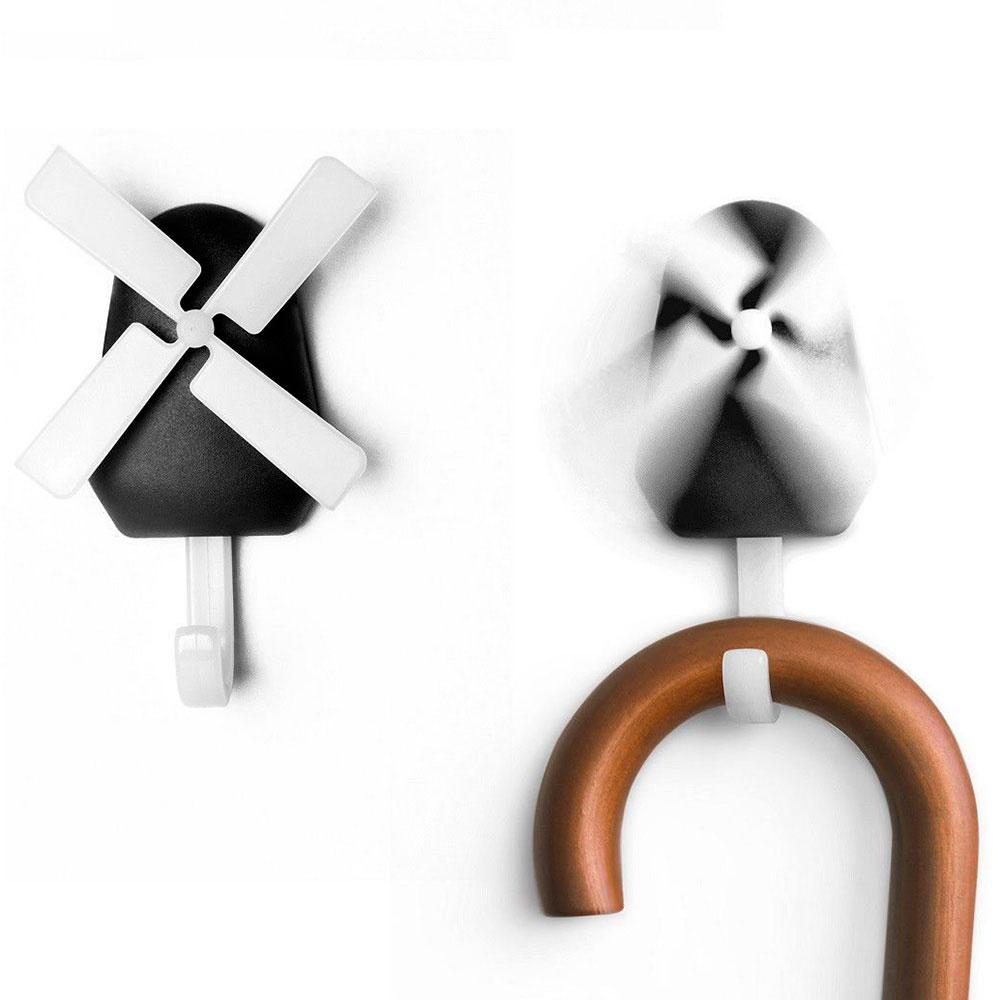 Настенный крючок Qualy Windmill