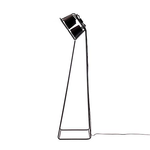 Черный торшер  Seletti на 6 лампочек, фото