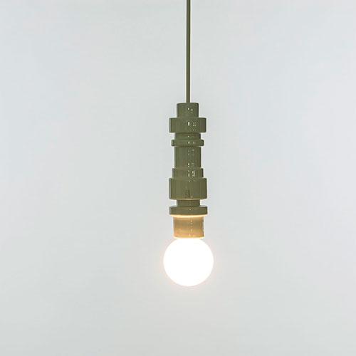 Светильник Seletti Turn белого цвета, фото