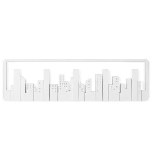 Настенная вешалка Umbra Skyline белая, фото