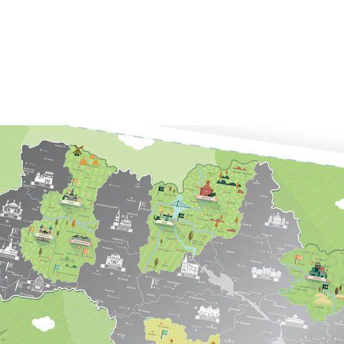 Скретч-карта Travelmap Моя Україна, фото