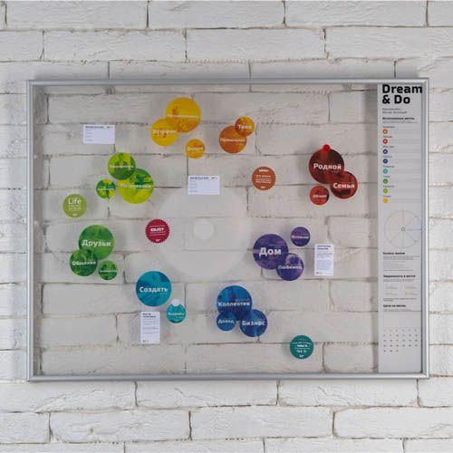 Карта желаний Travelmap Dream and Do, фото