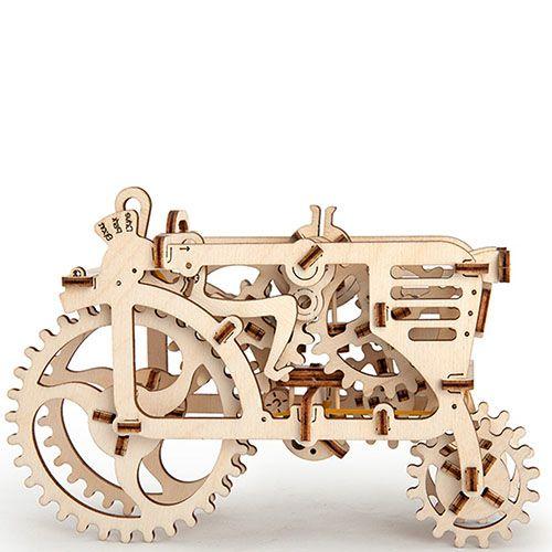 Механический 3D пазл Ukrainian Gears Трактор, фото
