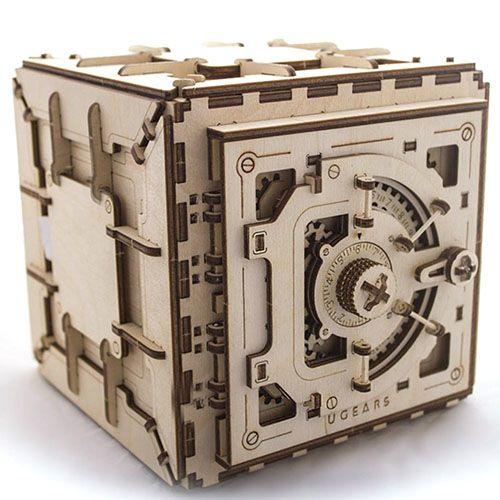 Механический 3D пазл Ukrainian Gears Сейф, фото